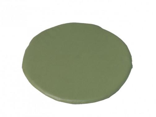 Kissen grün, rund