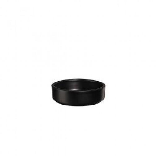 Schälchen Tapero, 10 cm Ø, 3 cm h, schwarz