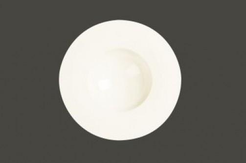 Tiefer Teller, 29 cm Ø, breiter Rand, Fine Dine