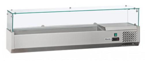 Kühlaufsatztheke, 6 x 1/4 GN (ohne Einsätze)
