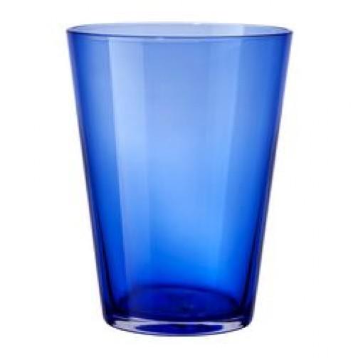 Glas DIOD türkis, 12,5cm hoch