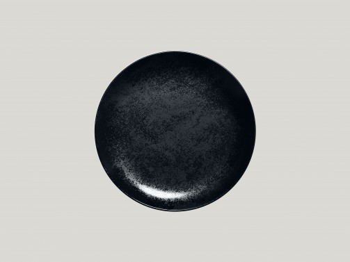 Dessertteller, 21 cm Ø, Karbon