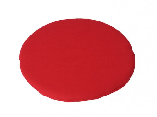 Kissen rot, rund