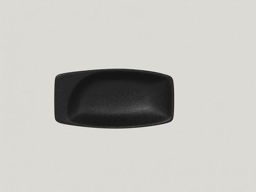 rechteckige Schale, 10,8 x 5,4 cm, 3 cl, schwarz Neo Fusion
