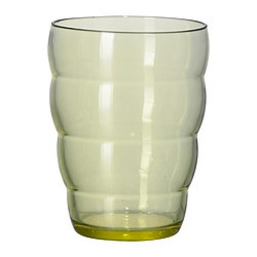 Glas SKOJA grün, 10,5cm hoch