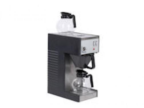 Kaffeemaschine, 1 x 14 Tassen mit Warmhalteplatte, incl. 2 Glaskannen