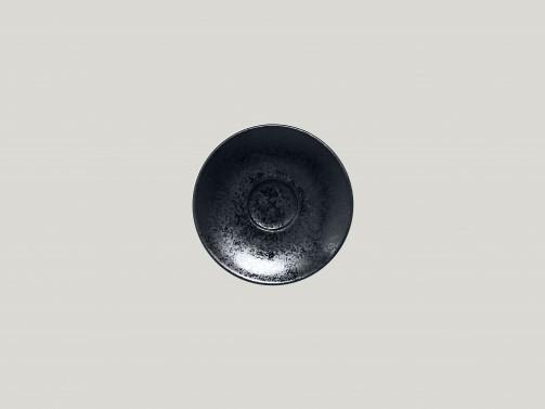 Espressountertasse, 13 cm Ø, Karbon