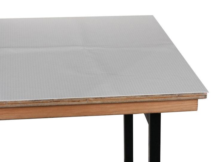 Molton, Weich-PVC, 1,25 x 0,85 m, für Banketttisch 1,20 x 0,80 m