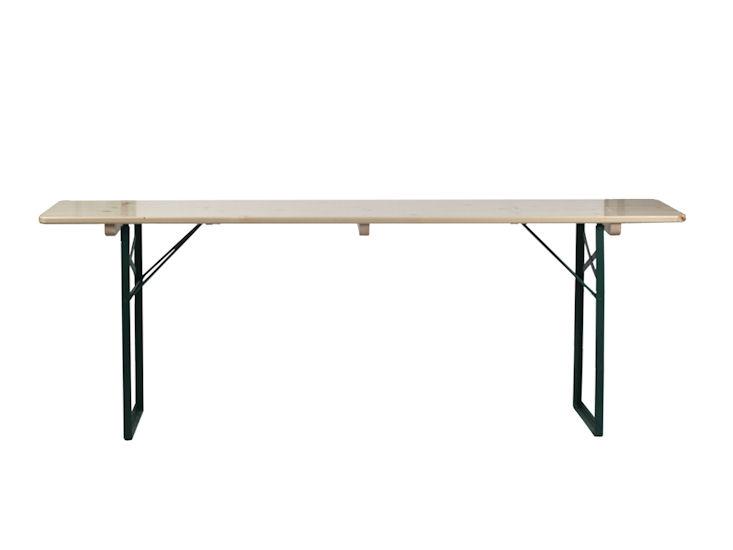 Tisch 2,20 x 0,50 m, natur