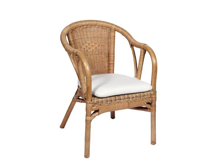 Rattansessel *Matri* (für indoor Bestuhlung) incl. Sitzpolster