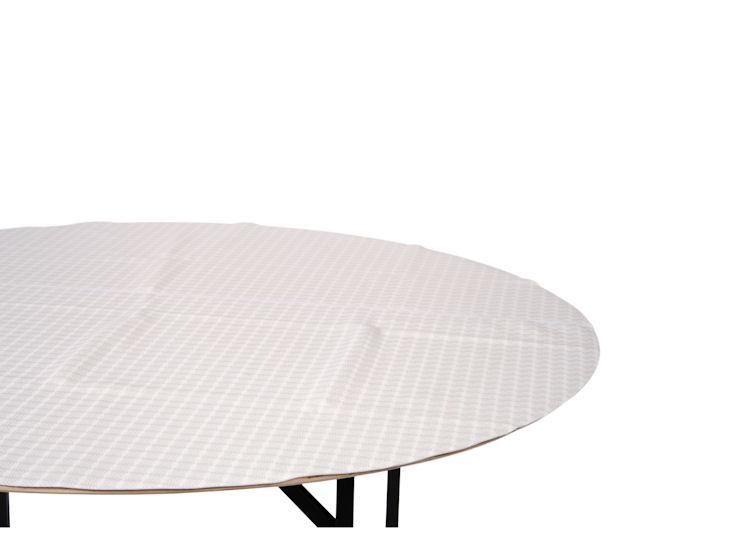 Moltonauflage für Sitztisch 180 cm Ø
