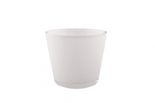Glas DIOD weiß, 7,5cm hoch