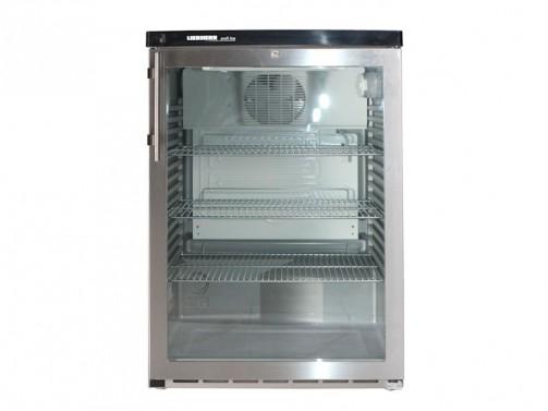 Liebherr Getränke- Kühlschrank, Glastür, Umluft, 180 l