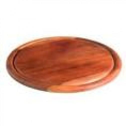 Holzteller, 25 cm Ø