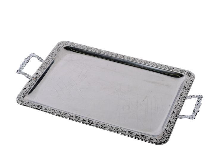 Kleine Chromaganplatte 42 x 31 cm
