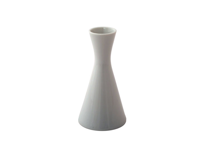 Vase, 12,5 cm hoch, weiß