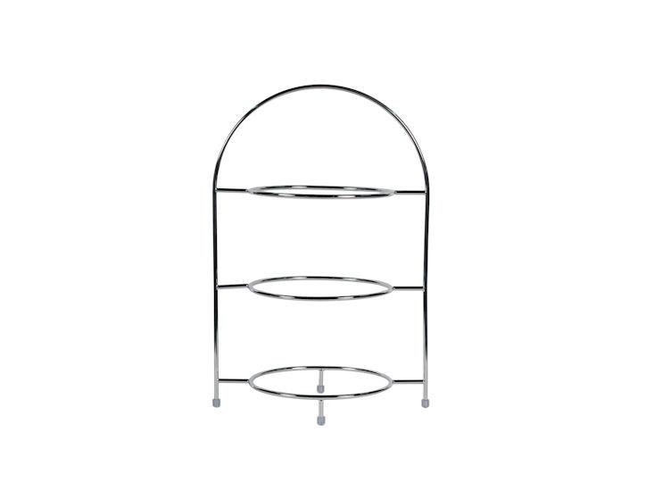 Telleretagere, für 3 Teller bis max. 27,5 cm Ø, 43 cm hoch