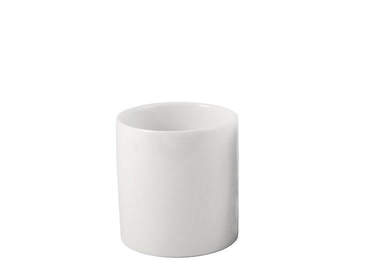 Porzellan Fondue Set, Oberteil, weiß