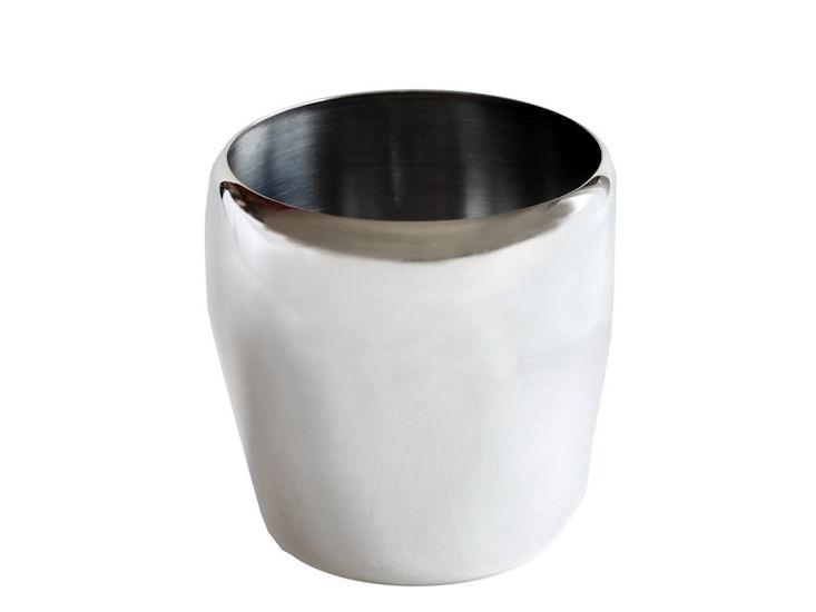 Eiswürfelbehälter versilbert 121 mm hoch, 126 mm Ø