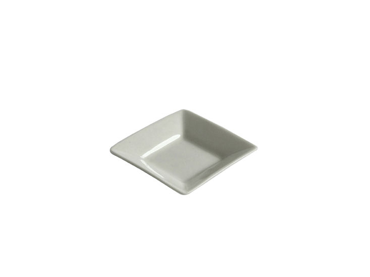 Quadratischer Teller, 6 x 6 cm, All Spice