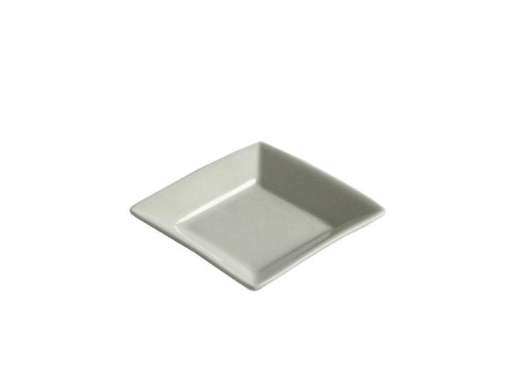 Quadratischer Teller, 8 x 8 cm, All Spice