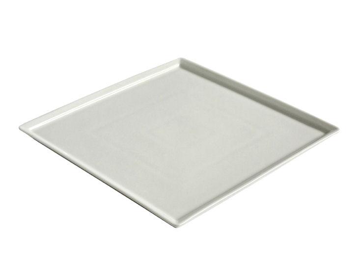 Quadratischer Teller, 25 x 25 cm, Ginger