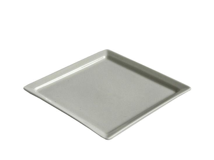 Quadratischer Teller, 14 x 14 cm, Ginger