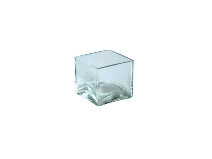 quadr. Schälchen, Glas 4,9 x 4,9 x 4,5 cm hoch