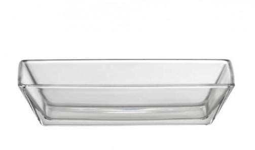 Glasschale 13 x 6 cm, H: 3 cm