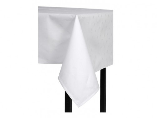 Tischdecke, weiß 1,30 x 1,30 m