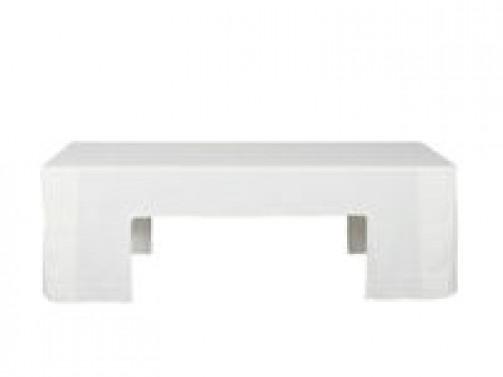 Tischhusse weiß, für Tisch (Art.nr. 40021) 2,20 x 0,50 m