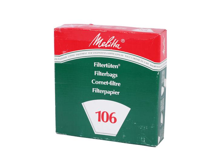 Filtertüten für Kaffeemaschine 7001