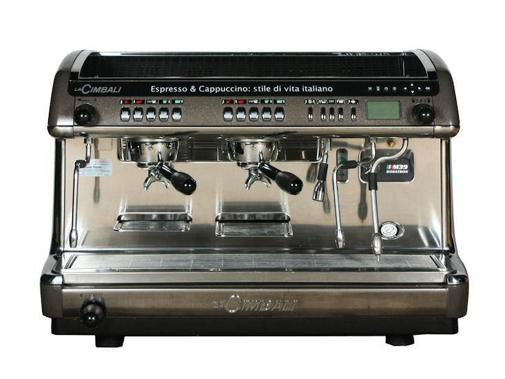 Espresso - Kaffeemaschine La CIMBALI M39 Dosatron DT2R mit Thermodrive, Turbosteam.