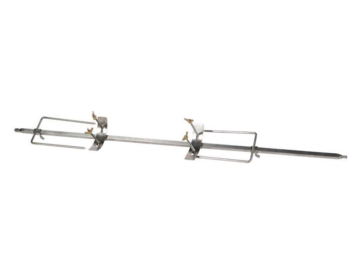 Spieß für Spanferkelgrill, 117 cm