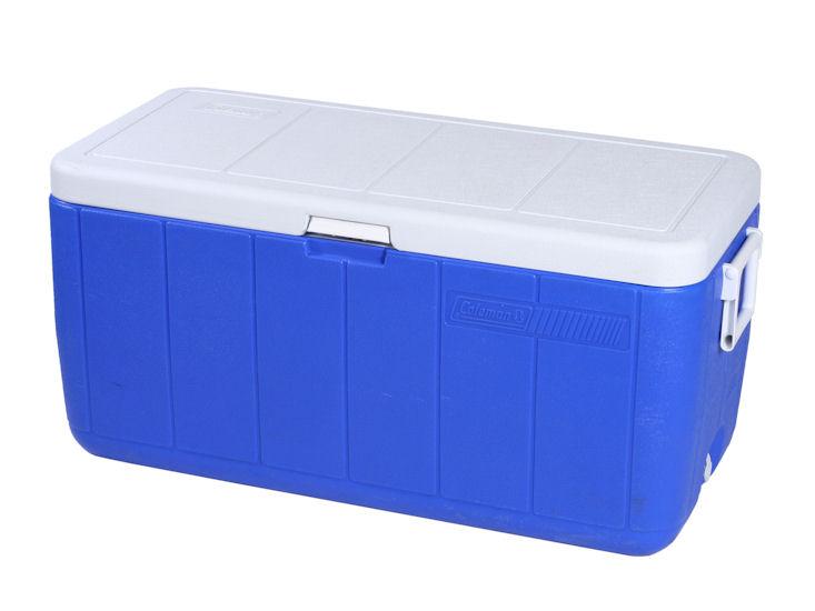 Kühlbox mit Deckel, Kunststoff, Inhalt ca. 80 l