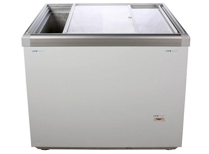 Eiscremetruhe mit Glasschiebedeckeln, 230 V / 1,9 KW