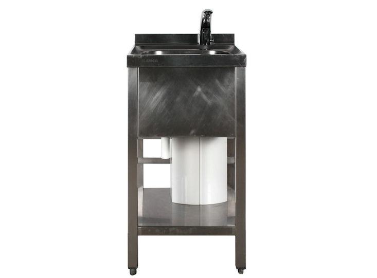 Einzelspüle / Handwaschbecken mit 5 l Warmwasserspeicher, Sensorgesteuert
