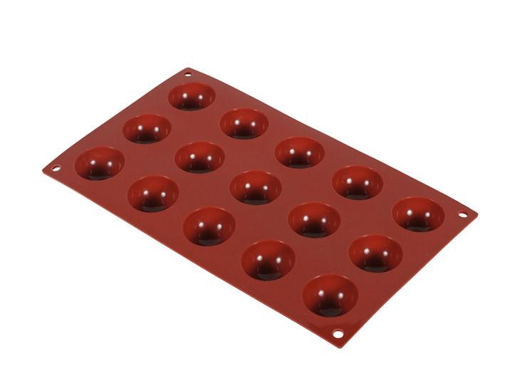 Silikon-Backmatte Halbkugel, 4 cm