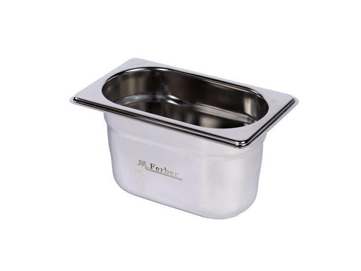 Gastronorm Behälter 1/9, 10 cm tief / 1 l