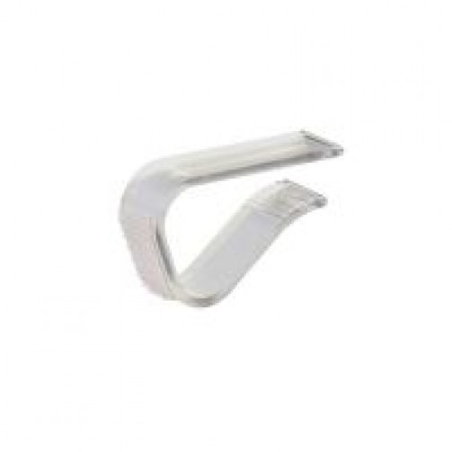 Skirting Clip mit Klettband für Tischstärke 1,5 - 2,5 cm