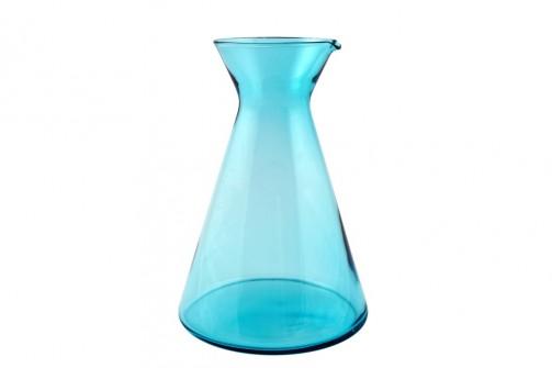 Glaskaraffe - Legende - blau, 1,2l