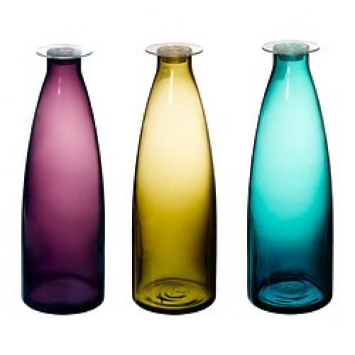 Flasche Mildra, türkis, 1 l, 27 cm hoch