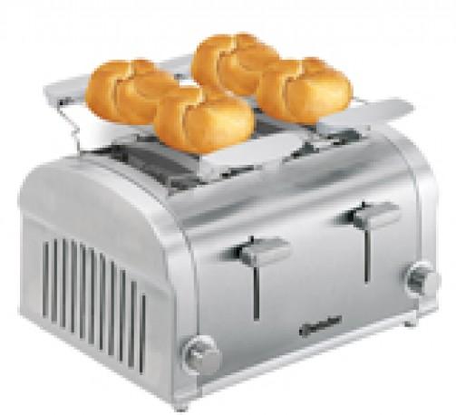 Toaster, für 4 Toastscheiben