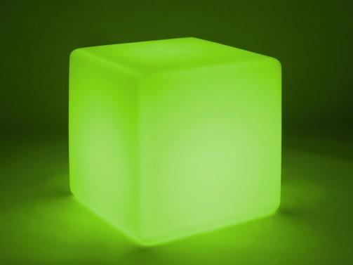 led cube, inkl Akku und Fernbedienug