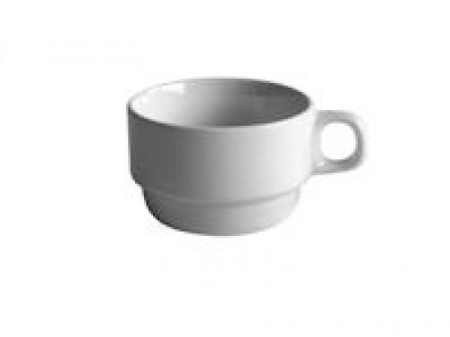 Kaffeetasse, weiß