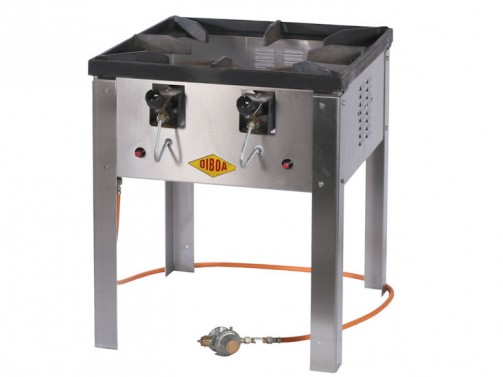 Hockerkocher, für Riesenbratpfanne, Gas