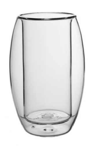 Glasbecher doppelwandig 0,25l