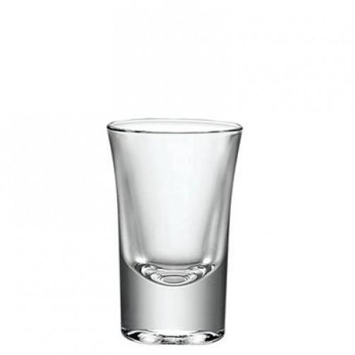 Schnapsglas, Stamper hoch, 2cl