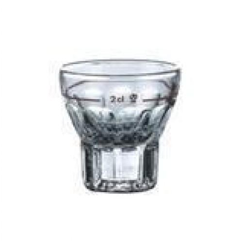 Schnapsglas, Stamper, 2 cl