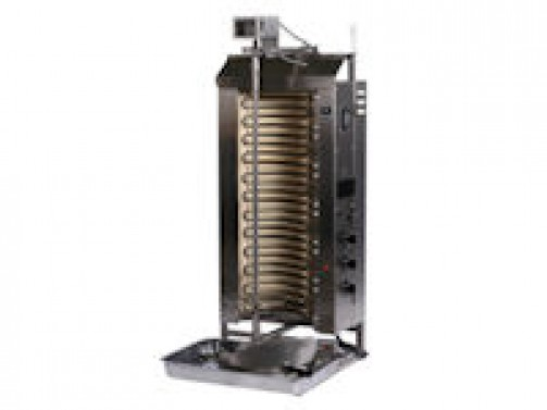 Gas Gyrosgrill, Spießlänge ca. 60 cm